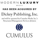 Modern Luxury Media to be Acquired by Dickey Publishing, Inc.