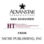 Berkery, Noyes & Co. represents Niche Publishing in its sale of HT- the magazine for healthcare tavel professionals to Advanstar Communications