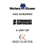 Berkery, Noyes & Co. advises Reed Elseiver on its sale of nursing publisher Springhouse Corporation to Wolters Kluwer