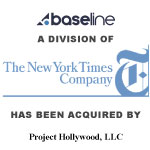 The New York Times Company Completes Sale of Baseline to Project Hollywood LLC