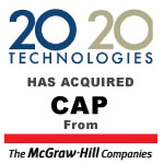 Berkery, Noyes & Co. advises The McGraw-Hill Companies in the sale of CAP to 20-20 Technologies, Inc.