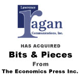 Berkery, Noyes & Company advises The Economics Press Inc. in its sale of Bits & Pieces to Lawrence Ragan Communications, Inc.