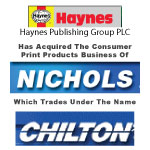Haynes Publishing Group PLC Has Acquired The Consumer Print Products Business Of Nichols Publishing Which Trades Under The Name  Chilton