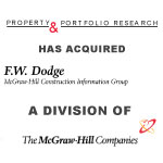 Berkery, Noyes & Co. advises F.W. Dodge in its sale of their Real Estate Analysis and Planning Service (REAPS) to Property & Portfolio Research (PPR)