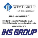 West Group Has Acquired IHS Environmental Products From IHS Group