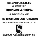 DELMAR PUBLISHERS Has Acquired The Assets Of Singular Publishing Group, INC.