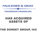 Faulkner & Gray Has Acquired Assets Of The Dorset Group, Inc.