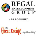 Regal Entertainment Group Completes Acquisition of Great Escape Theatres