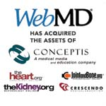 Berkery, Noyes & Co. represents Conceptis Technologies Inc. in its sale to WebMD Health.