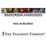Berkery, Noyes & Co. represents The Teaching Company in its sale to Brentwood Associates