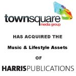 Townsquare Media Acquires Music & Lifestyle Assets From Harris Publications