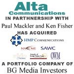 Berkery Noyes Represented BG Media Investors On The Sale Of HMP Communications To Alta Communications, Mackler And Fisher