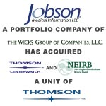 Berkery Noyes Represented The Thomson Corporation In The Sale Of Centerwatch And New England Institutional Review Board To Jobson Medical Information