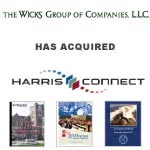 Berkery Noyes Represents Harris Connect, Inc. In Its Sale Agreement With The Wicks Group of Companies, L.L.C.